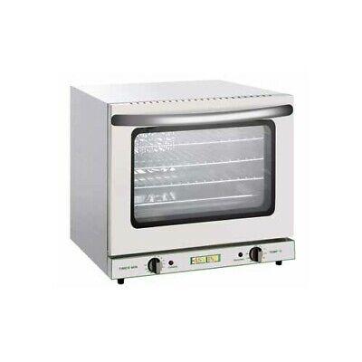 Horno eléctrico de convección gastronomía cocina restaurante 4 bandejas 45x33 RS