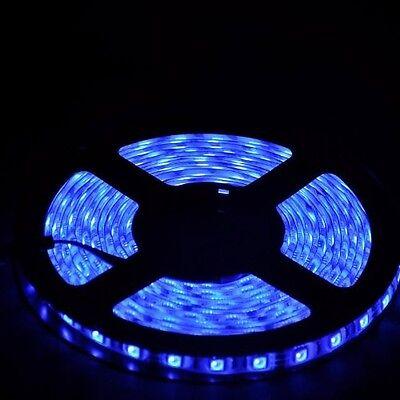 5M SMD RGB 5050 Waterproof 300 LED Strip Light 44 Key Remote 12V 5A Power Kit
