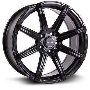 "Roues 16"" Mag Hiver Honda Civic Mazda 3 CX3 CX5 Lancer Tucson Elantra Sonata Soul Optima Altima Rim 5x114.3 Roue 16"