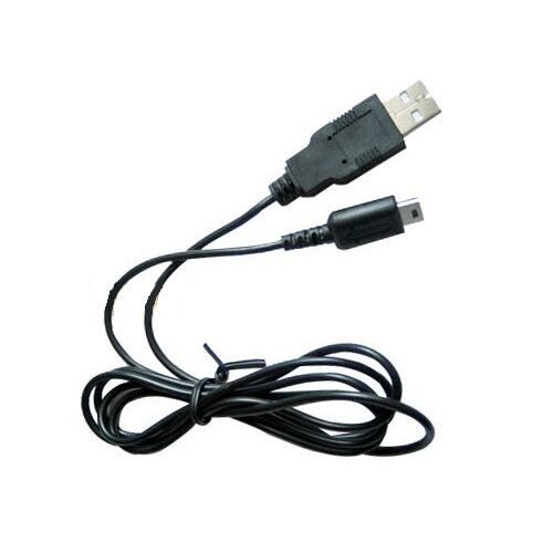 usb battery charging cable for nintendo ds lite dsl ndsl charger lead power cord ebay. Black Bedroom Furniture Sets. Home Design Ideas