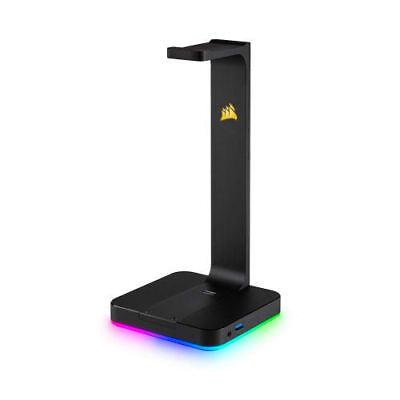 Corsair CA-9011167-NA Gaming ST100 RGB Premium Headset Stand 7.1 Surround Sound