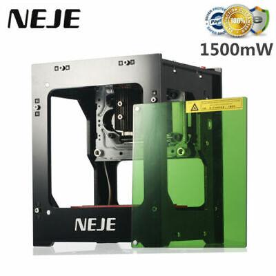 Neje Dk-8-kz 1500mw Engraver Engraving Carving Machine Diy Printer 405nm X9b9