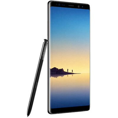 14 Note - New Store Return Unlocked Samsung Galaxy Note 8 N950U N950U1 Black AT&T TMobile