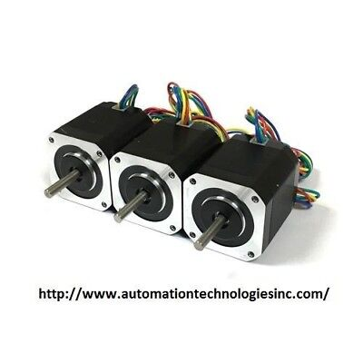 3pcs Nema17 Stepper Motor Kl17h248-15-4a For 3d Printer 76 Oz-in