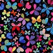 Butterfly Fabric by The Yard