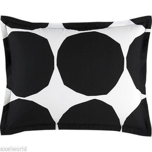 Black And White Pillow Shams Ebay
