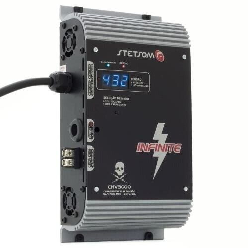 Stetsom CHV3000 Charger for High Voltage Systems 12V - 132V - 16 Amps