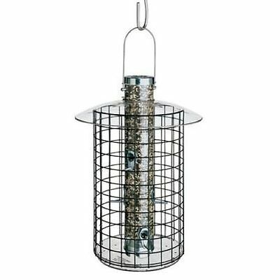 DROLL YANKEES DOME CAGE SQUIRREL PROOF BIRD FEEDER B7DC