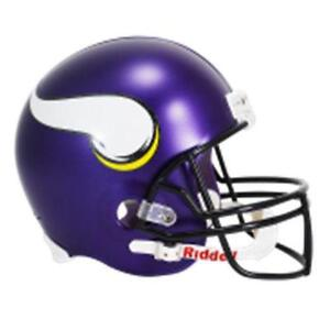 Minnesota Vikings Full Size Helmet e37a5b673