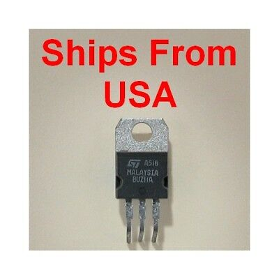 Buz11a Mosfet N-channel 50v 26a .045 Ohm To-220 Power Transistor St Stm New