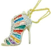High Heel Shoe Necklace