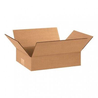 100 10x7x3 Cardboard Shipping Boxes Flat Corrugated Cartons