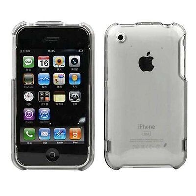 Clear Transparent Crystal Hard Case for iPhone 3G / 3GS - Rear Only 3g-clear Hard Case