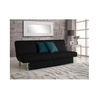 Convertible Futon Couch Sofa Bed Sleeper Microfiber ...