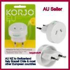 2 Pin Plug Travel Electrical Adaptors
