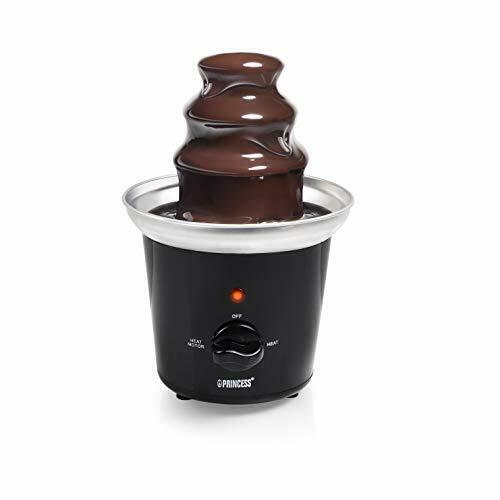 Fontana di lumino da tè per fonduta al cioccolato con 2 X FORCELLA Fondue 10x14cm