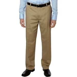 DOCKERS men's D3 classic fit flat front Iron Free Khaki pants 32 34 36 38 40 42