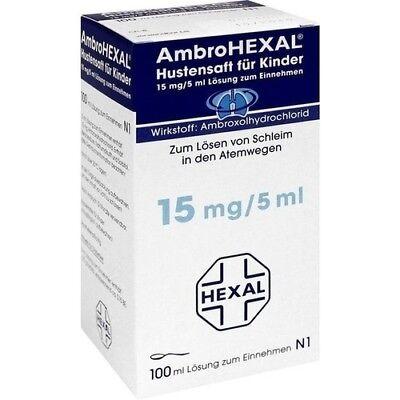 AMBROHEXAL Hustensaft für Kinder 100 ml 03692346