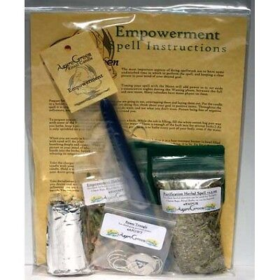 Empowerment Ritual Spell Kit Wicca Witchcraft Wiccan Supplies