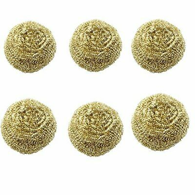 Solder Tip Cleaning Brass Wire 6 packs Replacement Cleaning Brass Wire for So...