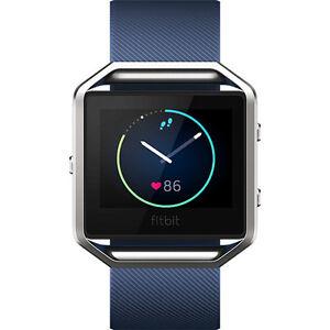 Fitbit  Blaze Classic .JUST THE BRACELET - Large - Blue - NIB