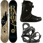Rome Snowboards with Bindings