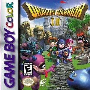 Gameboy Color - Dragon Warrior I & II + Worm Light