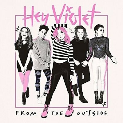 Hey Violet   From The Outside  New Vinyl Lp  Explicit  White  Clear Vinyl