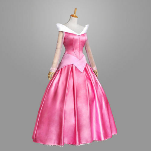 Adult Princess Cosplay Costume Halloween Fancy Stage Dress Set Outfit HOT