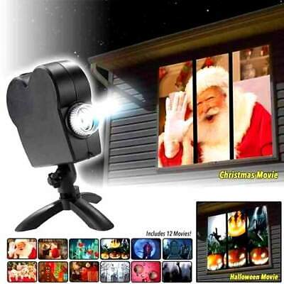 NEW WINDOW WONDERLAND STAR SHOWER PROJECTOR CHRISTMAS / HALLOWEEN MOVIE DISPLAY](Halloween Displays 2017)