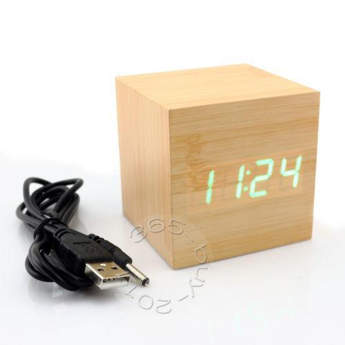 Mini Led Digital Clock Ebay