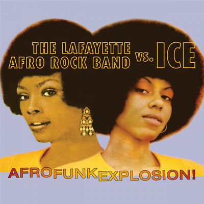 The Lafayette Afro Rock Band Vs. Ice : Afro Funk Explosion! CD 2 discs (2016)