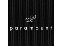 Assistant General Manager for Paramount Bar