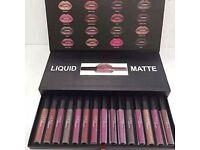 Huda Beauty 16pcs Liquid Matte Lipsick Set X 4