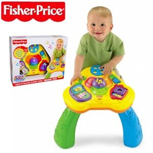 NEW FISHER PRICE BRILLIANT BASICS LIGHTS AND SOUNDS ACTIVITY TABLE