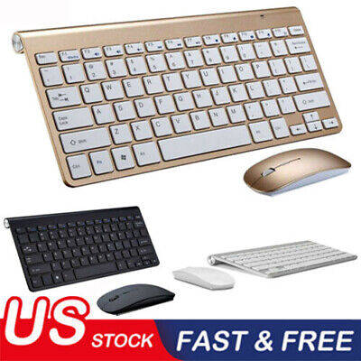 US 2019 Best selling mini wireless keyboard and mouse set waterproof 2.4G for