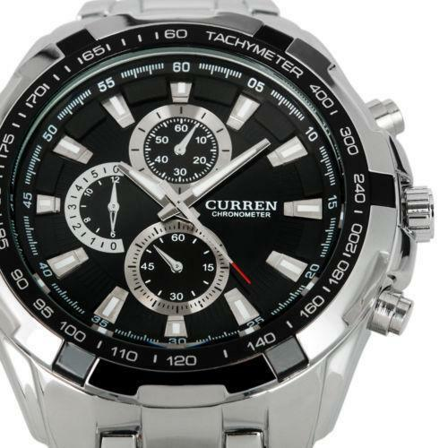 Curren watches men women new used luxury ebay for Curren watches
