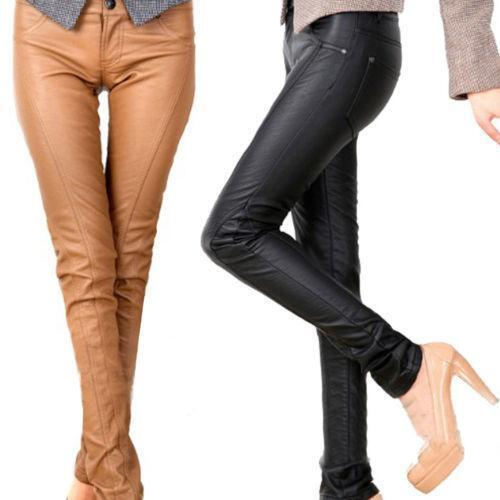Women's leather pants greatly enhance a women's oomph factor. For those who dislike tights, the other leather leggings available are bell bottom styled, three fourths, silt pants etc. Low waist leather pants are also available that gives you a slutty look, yet in a .