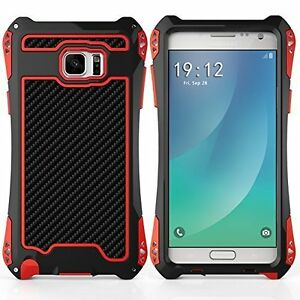 Metal & Rubber case for Samsung s6 Edge Bolts on