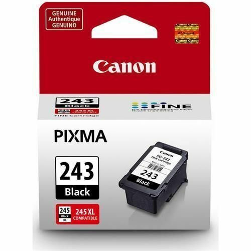 Canon PG-243 Black Ink Cartridge for PIXMA Printers - 5.6ml