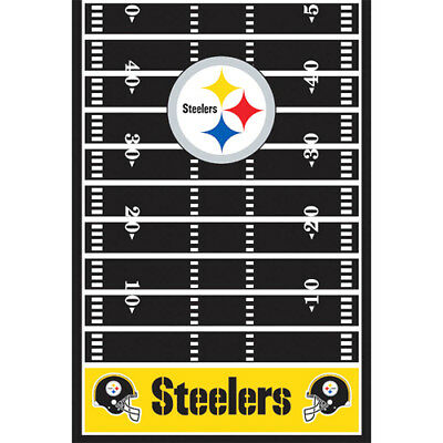 Steelers Party Decorations (NFL PITTSBURGH STEELERS PLASTIC TABLE COVER ~ Birthday Party Supplies)