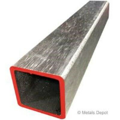 Alloy 304 Polished Stainless Steel Square Tube - 1 14 X 1 14 X .065 X 12