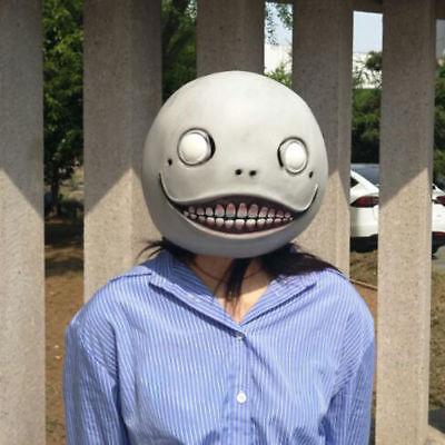 Game NieR:Automata Mask Emil Masks Latex Helmet 2B Halloween Cosplay Horror Prop