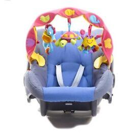 Baby Pram Crib Activity Arch