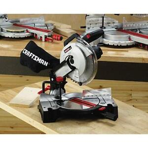 "Compound miter saw, 10"", in box, only used twice"