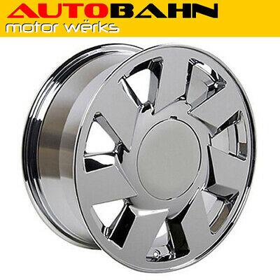 "17x7.5 Chrome DTS Style Wheel 17"" Rim Fits Cadillac Deville STS CTS ATS INV10088"
