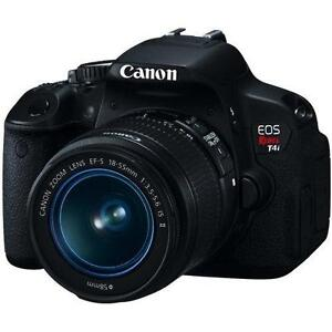 Canon EOS Rebel T4i with EF-S 18-55mm IS II Kit