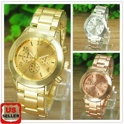 Fashion Curren Mens Date Stainless Steel Leather Analog Quartz Sport Wrist Watch Jewelry & Watches