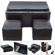 Brown Leather Storage Box