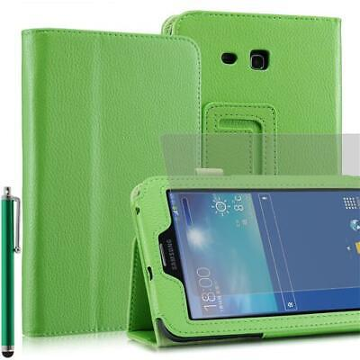 Plegable Funda Tablet para Samsung Galaxy Note pro T110 Verde 7